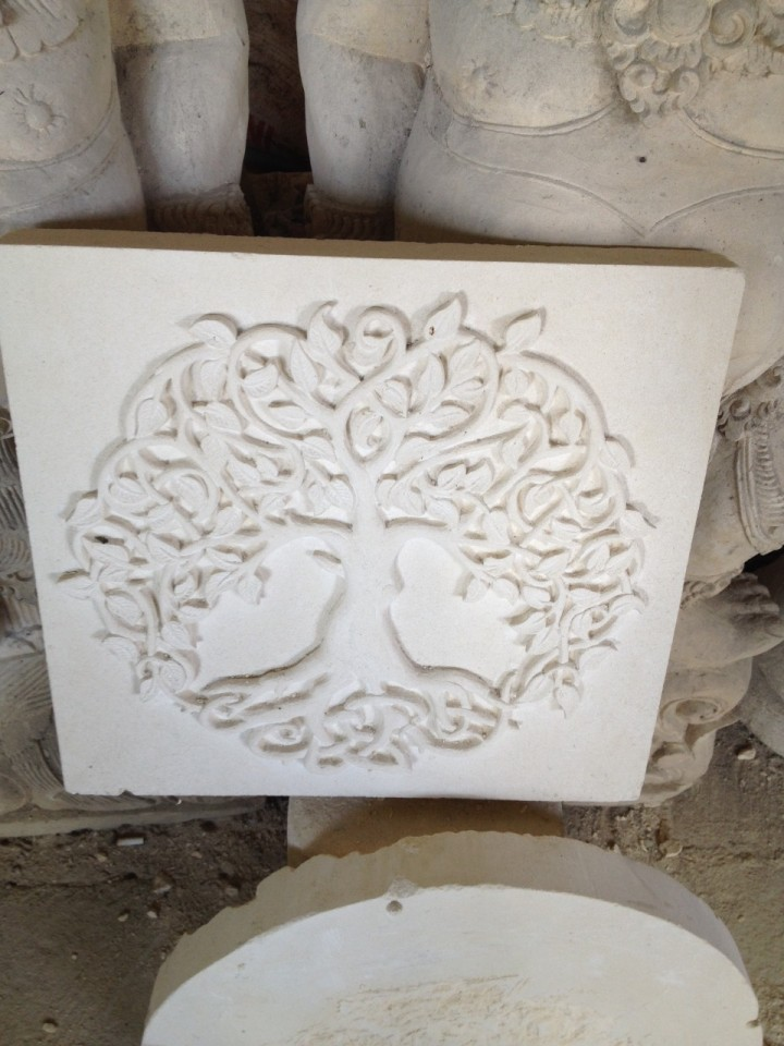 Stone carving mertarauh bali lessons